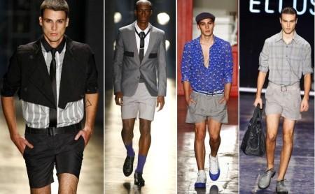 SPFW Verão 2010 - shorts masculino